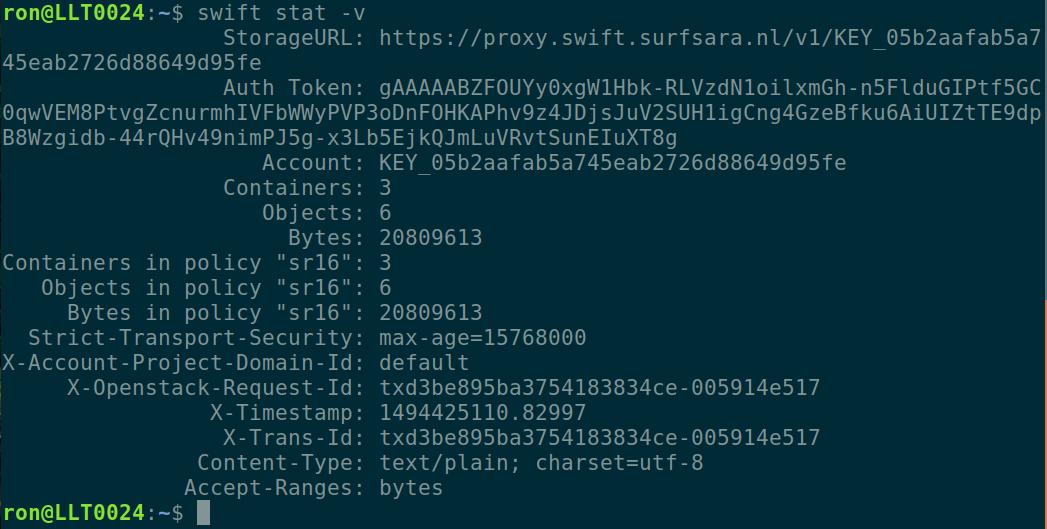 Python SWIFT client — SWIFT Documentation v1 0